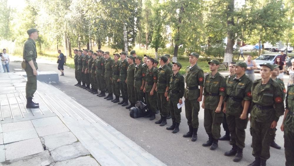 Сборы на военной кафедре