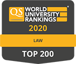 QS Rankings by subject, Law